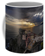 Manarola Sunset Storm Coffee Mug
