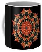 Mandala Daylily Coffee Mug