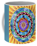 Mandala Wormhole 101 Coffee Mug by Derek Gedney