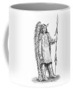 Mandan Indian Chief Coffee Mug