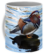Mandarin Duck Coffee Mug by Robert Bales