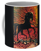 Mane In Autumn Light Coffee Mug