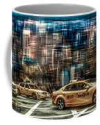Manhattan - Yellow Cabs - Future Coffee Mug