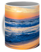 Manhattan Beach Sunset Coffee Mug