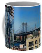 Manhattan Bridge From Brooklyn Coffee Mug