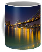 Manhattan Bridge Coffee Mug by Mircea Costina Photography