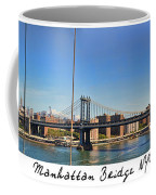 Manhattan Bridge Nyc Coffee Mug