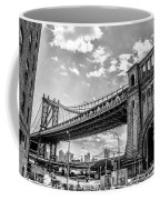 Manhattan Bridge - Pike And Cherry Streets Coffee Mug