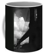 Manhattan Brooklyn Bridge View Coffee Mug
