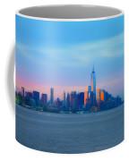 Manhattan In The Morning Coffee Mug
