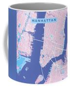 Manhattan Map Graphic Coffee Mug