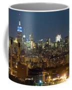 Manhattan Skyline, New York City, New Coffee Mug