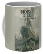 Manned By All American Crew Coffee Mug by Edward Hopper