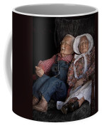 Mannequin Old Couple In Shop Window Display Color Photo Coffee Mug