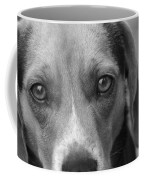 Man's Best Friend In Black And White Coffee Mug