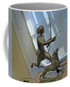 Manship's Indian Running With Dog Coffee Mug