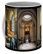 Mansion Hallway Triptych Coffee Mug by Adrian Evans