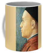 Mantegna's Portrait Of A Man Coffee Mug