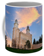 Manti Temple Morning Coffee Mug