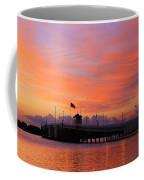 Mantoloking Bridge At Dawn Coffee Mug