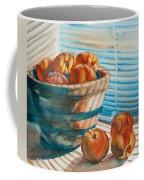 Many Blind Peaches Coffee Mug by Jani Freimann