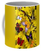 Many Butterflies On Mums Coffee Mug