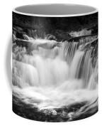 Many Falls - Bw Coffee Mug
