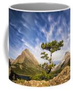 Many Glacier Tree Coffee Mug