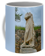 Many Sculptures Lost Their Heads In Ephesus-turkey Coffee Mug