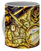 Map And Compass Coffee Mug