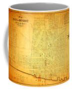 Map Of Detroit Michigan C 1835 Coffee Mug
