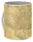 Map Of Manila 1899 Coffee Mug