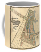 Map: Worlds Fair, 1893 Coffee Mug