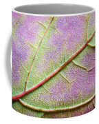 Maple Leaf Macro Coffee Mug