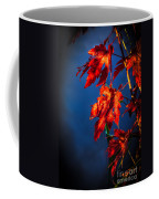 Maple Leaves Shadows Coffee Mug