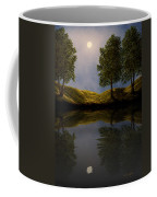 Maples In Moonlight Reflections Coffee Mug