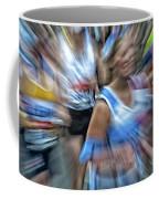 Marathon Abstract 2 Coffee Mug