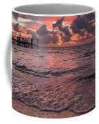 Marathon Key Sunrise Panoramic Coffee Mug by Adam Romanowicz