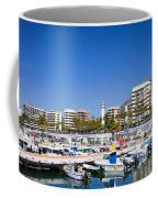 Marbella Marina In Spain Coffee Mug