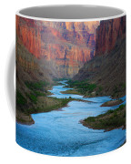 Marble Canyon Rafters Coffee Mug by Inge Johnsson