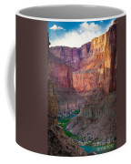 Marble Cliffs Coffee Mug by Inge Johnsson