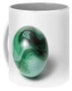 Marble Green Swirl 1 A Coffee Mug
