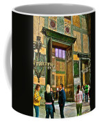 Marble Of Many Colors In Saint Sophia's In Istanbul-turkey Coffee Mug