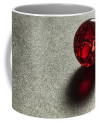 Marble Red Crackle 1 Coffee Mug