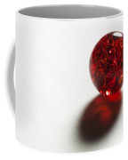 Marble Red Crackle 2 Coffee Mug