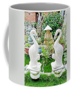 Marble Stork Sculptures In Xuat Anh-vietnam Coffee Mug