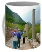 Marble Way In Ephesus-turkey Coffee Mug