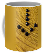 Marbles Arrow Blue 1 Coffee Mug