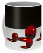 Marbles Red 1 B Coffee Mug