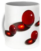 Marbles Red 2 Coffee Mug